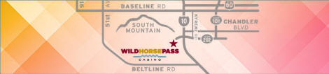 Wild Horse Pass Casino Map