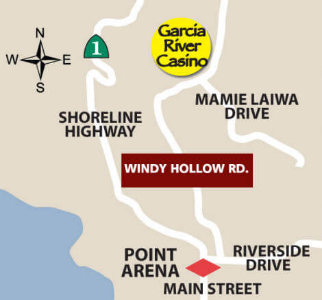 Garcia River Casino Map