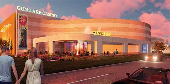 Lake Gun Casino 2021 Exterior