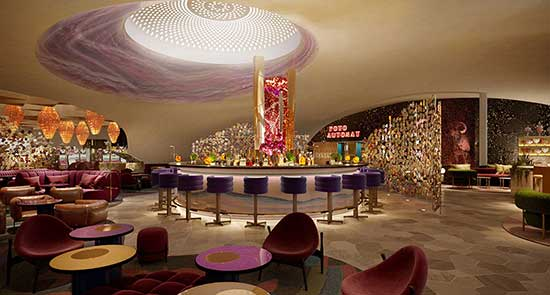 Mohegan Sun Casino at Virgin Hotels Las Vegas Bar