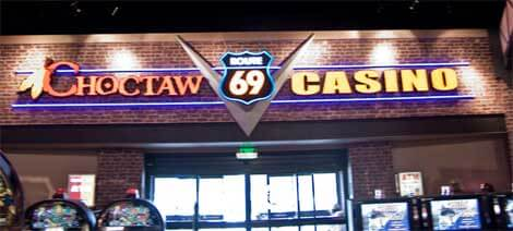 Choctaw Route 69 Casino Stringtown