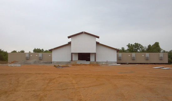 Red Clay Casino Construction Photo