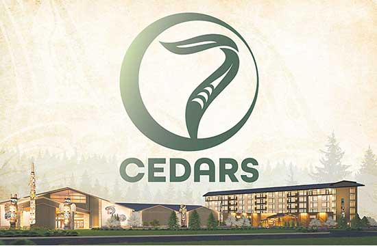 New 7 Cedars Casino Logo