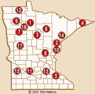 Map Of Casinos In Minnesota | Map cosmictheater