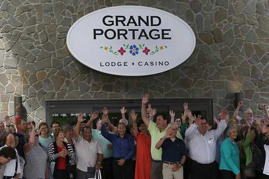 Grand Portage Lodge and Casino Reopening
